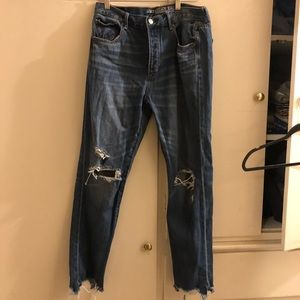 Mom jeans from American Eagle outfitters. Size 8!